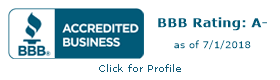BBB Accredited Business Logo - Four Peaks SEO
