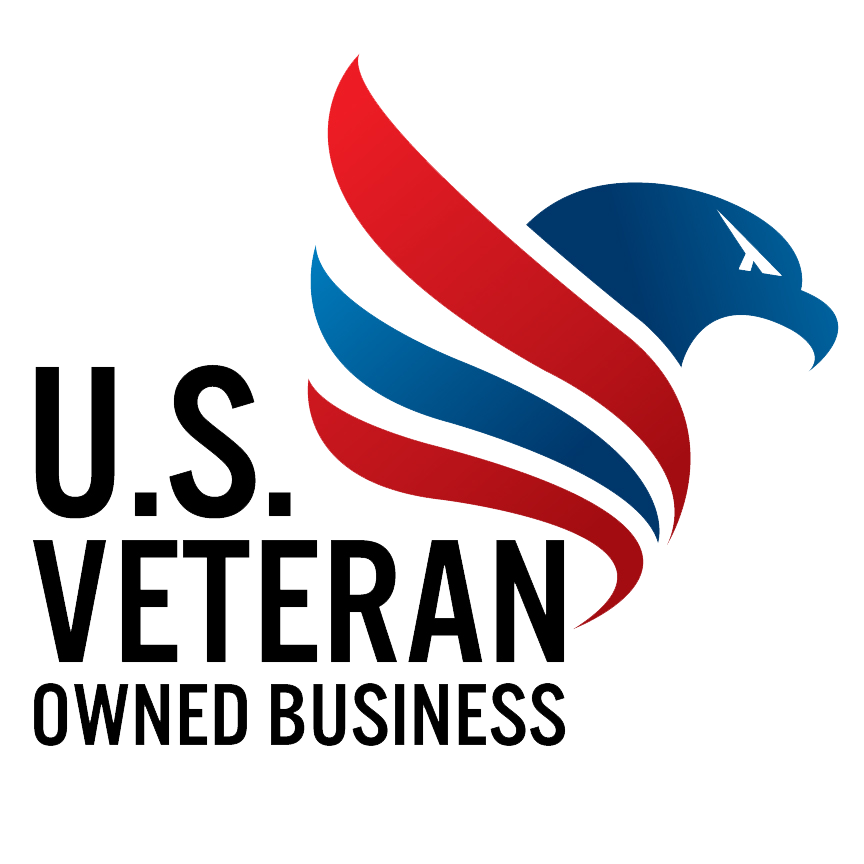 U.S. Veteran Owned Business Logo - Four Peaks SEO