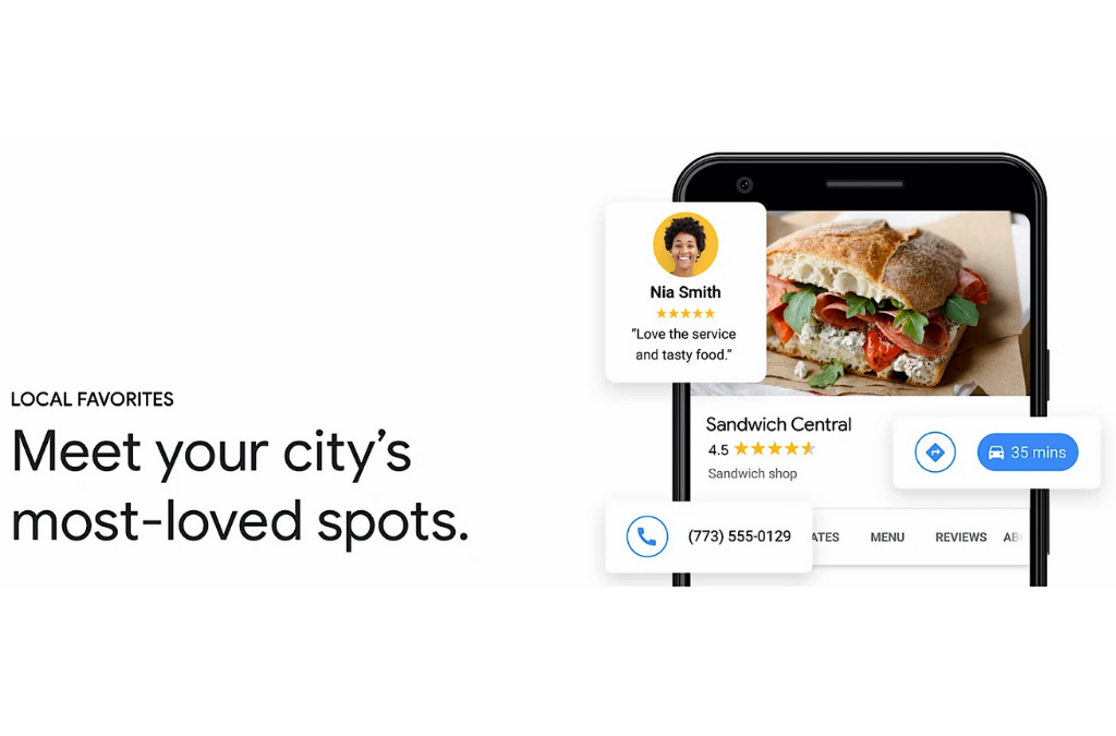 "New ""Local Favorite"" Status by Google My Business"