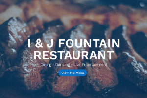 Latest Project - I & J Fountain Restaurant in Surprise, Arizona by Four Peaks SEO