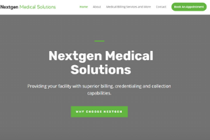 Latest Project - Nextgen Medical Solutions in Tucson, Arizona by Four Peaks SEO