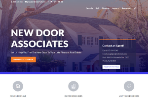 Latest Project - New Door Associates in Phoenix, Arizona by Four Peaks SEO